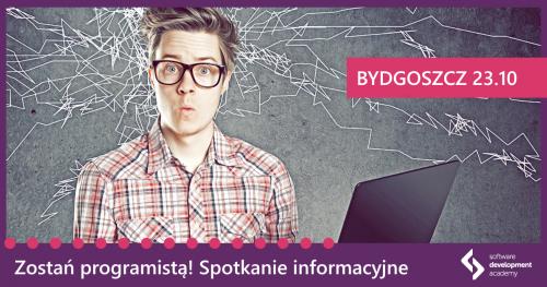 Zostań programistą! Spotkanie informacyjne St@rt IT w Bydgoszczy