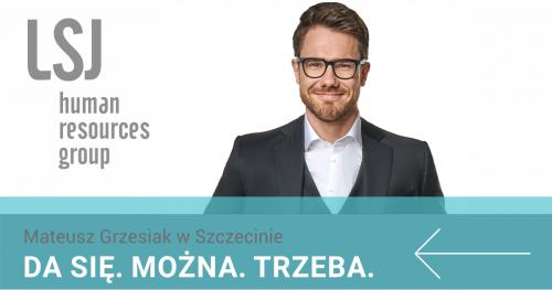Mateusz Grzesiak w Szczecinie   DA SIĘ. MOŻNA. TRZEBA.