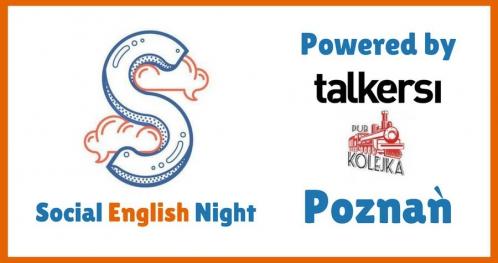 Social English Night with Talkersi! [51st edition, POZNAŃ]