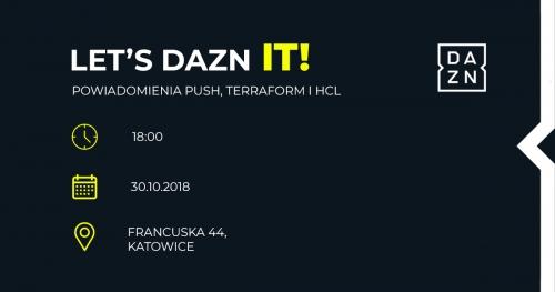 Let's DAZN IT! - powiadomienia Push, Terraform i HCL