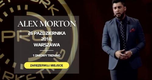 Alex Morton - Warszawa