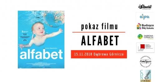 Alfabet - pokaz filmu - Dąbrowa Górnicza