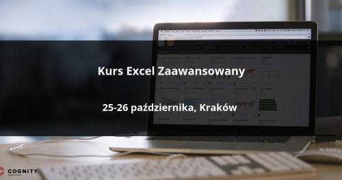Kurs Excel Zaawansowany w Cognity - Kraków