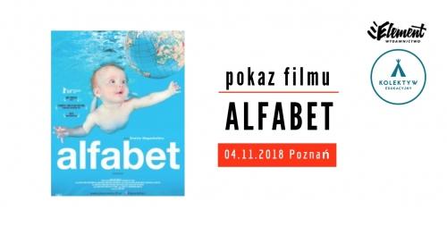 Alfabet - pokaz filmu - Poznań