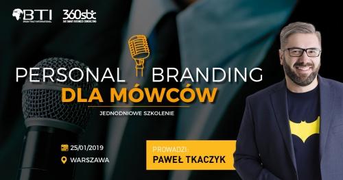 PERSONAL BRANDING DLA MÓWCÓW - WARSZAWA