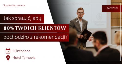 Spotkanie kandydatów do Zarządu Towarzystwa Biznesowego Tarnowskiego