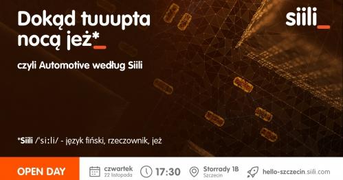 OpenDay Siili Szczecin