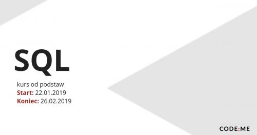 CODE:ME | SQL (styczeń-luty 2019)