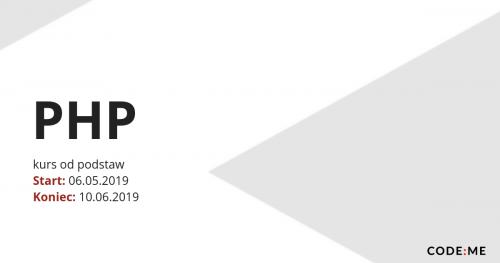CODE:ME |PHP (maj-czerwiec 2019)