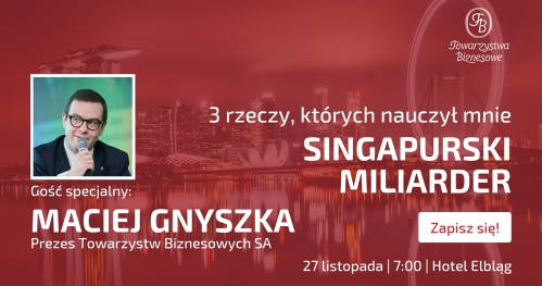 Spotkanie otwarte Towarzystwa Biznesowego Elbląskiego 27.11