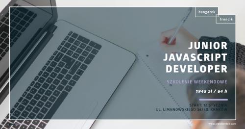 Junior Java Script Developer - Kurs weekendowy PLEO method