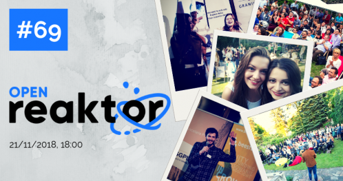 OpenReaktor #69 Startups, marketing and science behind it