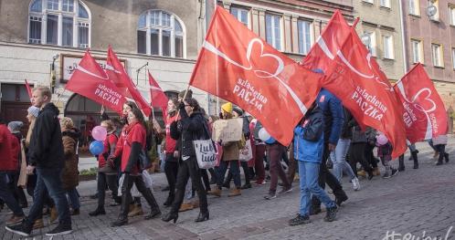 Marsz Szlachetnej Paczki i Akademii Przyszłości w Szczecinie
