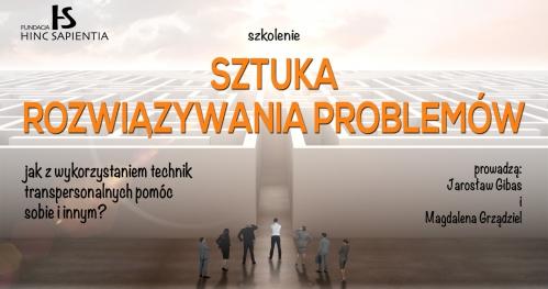 """Szkolenie """"Sztuka rozwiązywania problemów"""", Katowice"""
