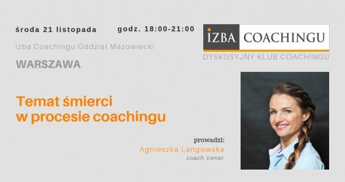 Temat śmierci w procesie coachingu