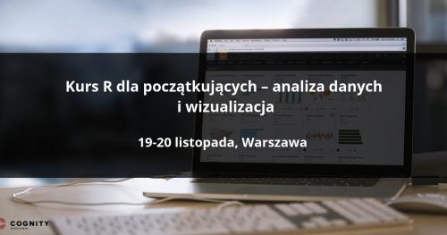 Kurs R dla początkujących - Warszawa