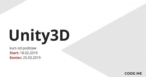 CODE:ME || Unity3D (luty-marzec 2019)