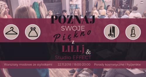 Poznaj swoje piękno z Lili.J i Studio EFFECT