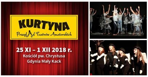 Kurtyna 2018 - Przegląd Teatrów Amatorskich