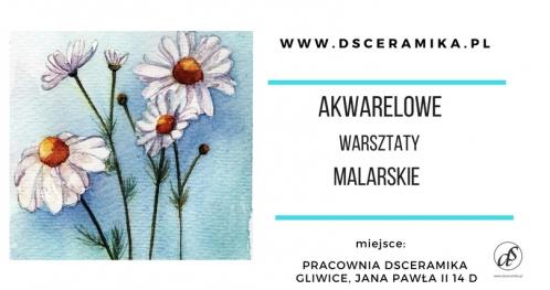 AKWARELOWE WARSZTATY MALARSKIE
