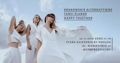 Krakowskie alternatywne targi ślubne Happy Together