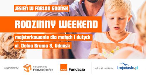 Rodzinny weekend - warsztaty dla rodzin 1+1