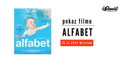 Alfabet - pokaz filmu - Wrocław