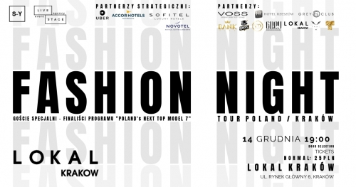 Fashion Night Tour / Kraków
