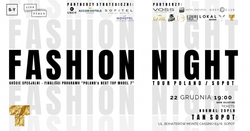 Fashion Night Tour / Sopot