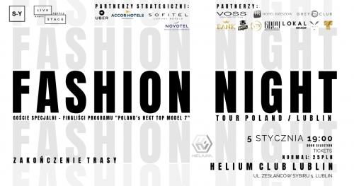 Fashion Night Tour / Lublin