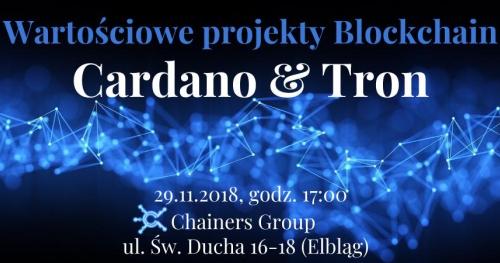 Wartościowe projekty blockchain w Chainers Group!