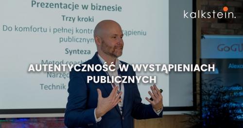 Autentyczność w wystąpieniach publicznych - szkolenie otwarte