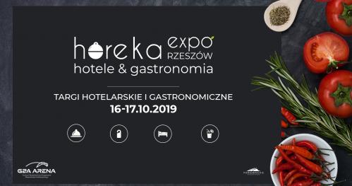 Horeka Expo Rzeszów - Targi Hotelarskie i Gastronomiczne - bezpłatna rejestracja