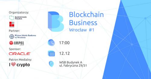 Blockchain Business Wrocław #1