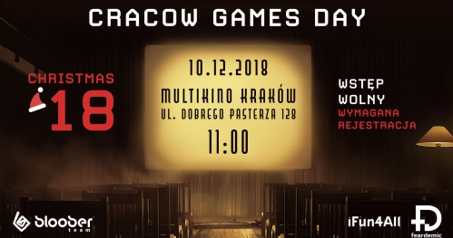 Cracow Games Day - Christmas 2018