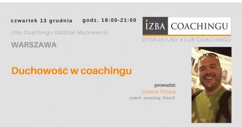 Duchowość w coachingu