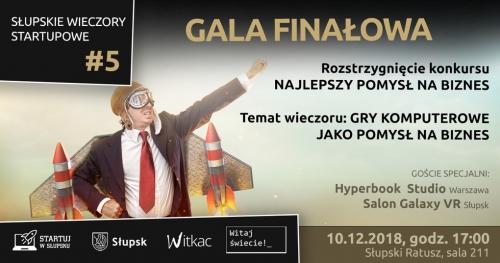 Gala finałowa. Słupskie wieczory startupowe #5