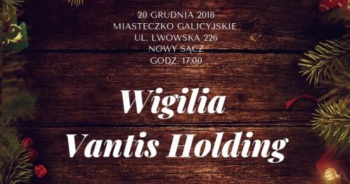 Spotkanie Wigilijne Vantis Holding