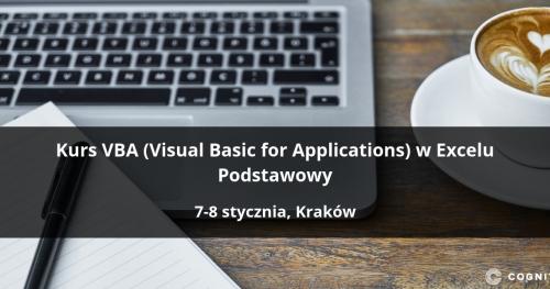 Kurs VBA (Visual Basic for Applications) w Excelu Podstawowy - Kraków