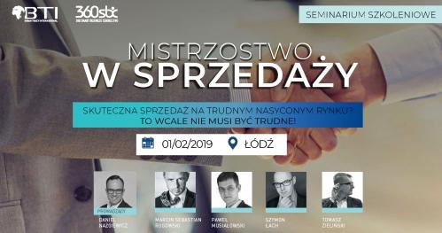 MISTRZOSTWO W SPRZEDAŻY - Łódź