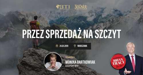 """""""Przez sprzedaż na szczyt"""" - Warszawa"""