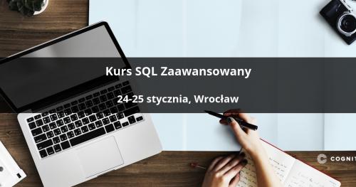 Kurs SQL Zaawansowany - Wrocław