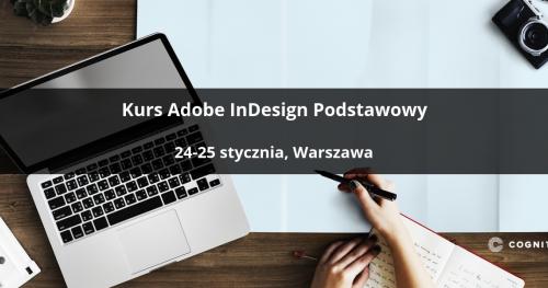 Kurs Adobe InDesign Podstawowy - Warszawa