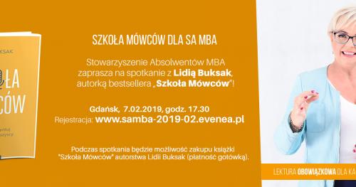 Szkoła Mówców dla SA MBA - Gdańsk 7.02.2019