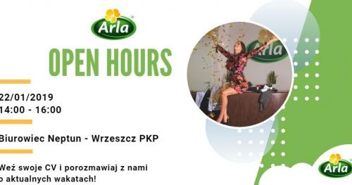 Arla Open Hours
