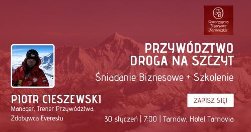 Spotkanie Otwarte Towarzystwa Biznesowego Tarnowskiego + Szkolenie