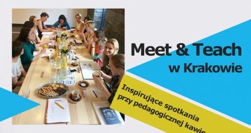 MEET&TEACH #23 - Video - spotkanie przy pedagogicznej kawie - Kraków 27 lutego 2019