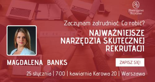 Styczniowe spotkania Towarzystwa Biznesowego Warszawskiego dla Gości - piątek