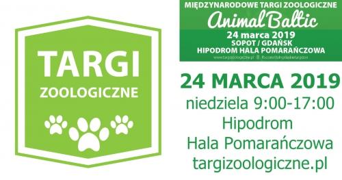 Międzynarodowe Targi Zoologiczne Animal Baltic 24 marca 2019