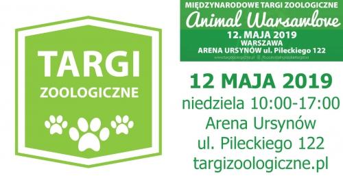 Międzynarodowe Targi Zoologiczne Animal Warsawlove 12 maja 2019